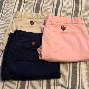 Lot of 3 Polo Ralph Lauren Golf Shorts
